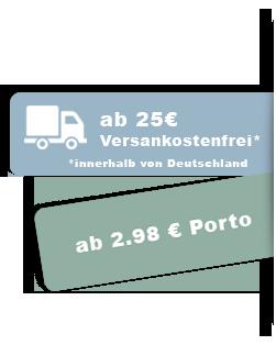 versandkostenfrei ab 25€