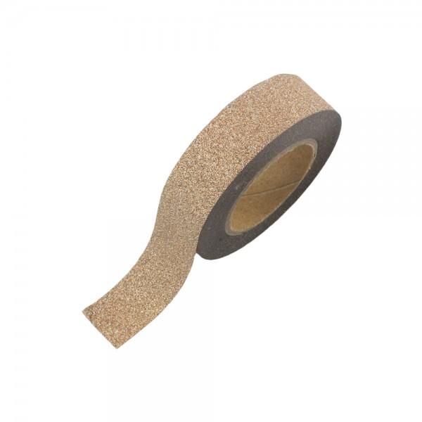 Glitter Tape - Bronze