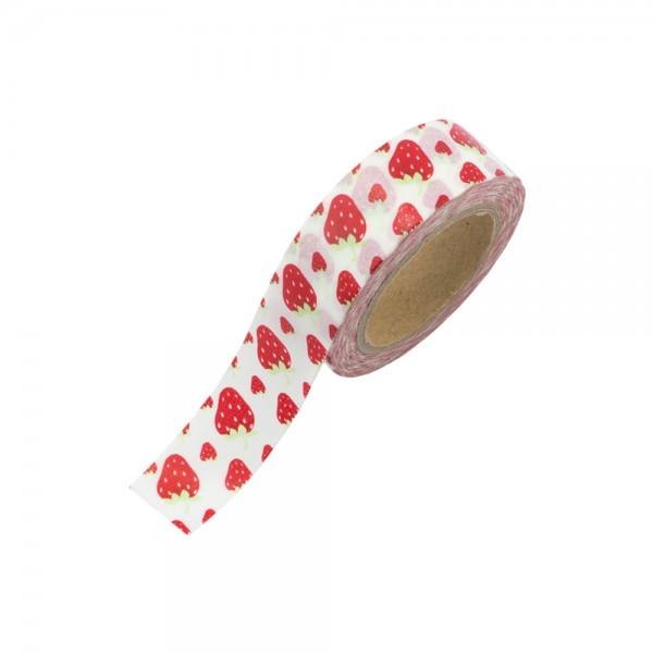 Washi Tape - Erdbeeren