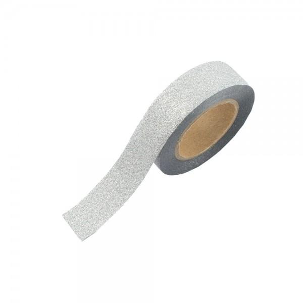 Glitter Tape - Silber