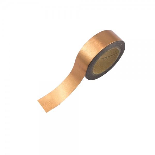 Washi Tape - Kupfer (glänzend)