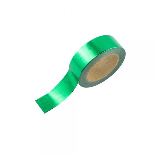 Washi Tape - Grün (glänzend)