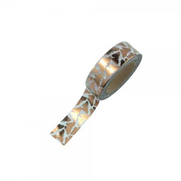 Washi Tape - Kupfer Schmetterlinge