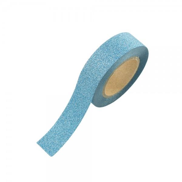 Glitter Tape - Hellblau