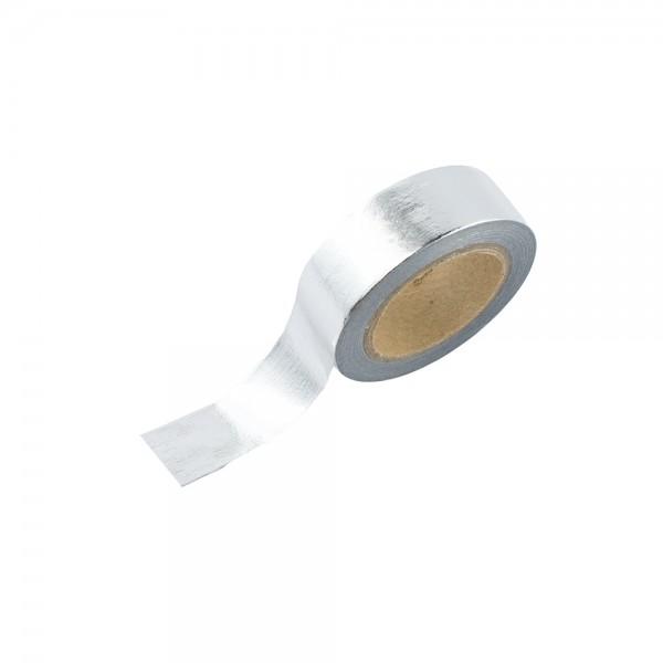 Washi Tape - Silber (glänzend)