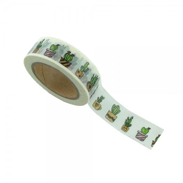 Washi Tape - Kakteen