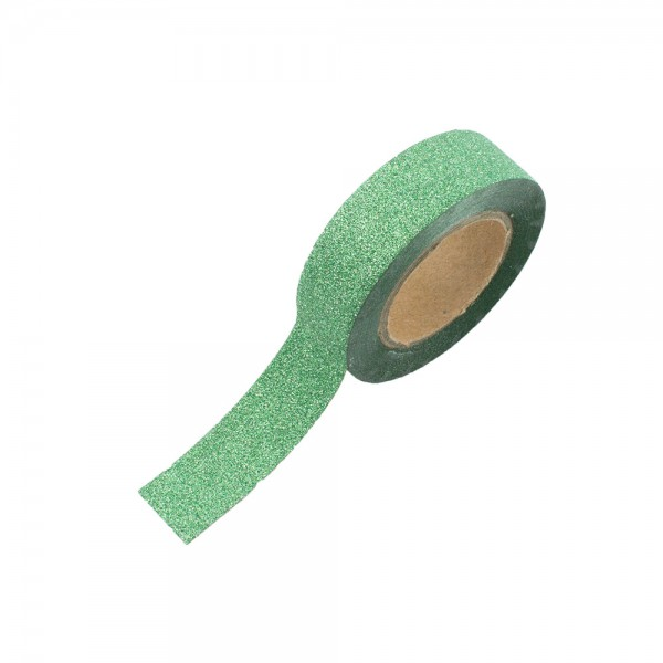 Glitter Tape - Grün