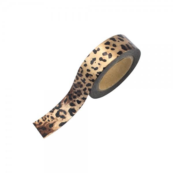 Washi Tape - Leopard (glänzend)