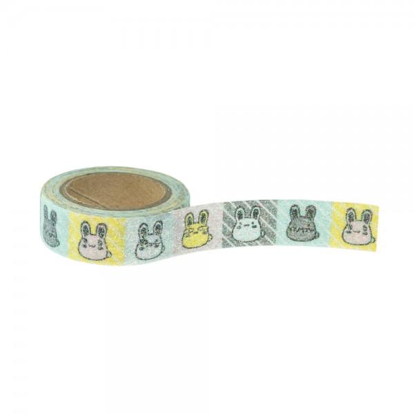 Glitter Tape - Bunte Hasen